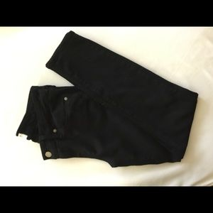 Paige black denim jeans
